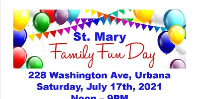 1st Annual St. Mary Family Fun Day and Super Sizzler Raffle