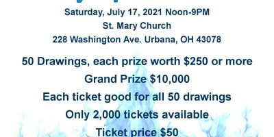 1st Annual St. Mary Super Sizzler Raffle
